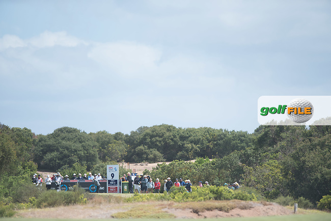 on the 9th tee during the 3rd round of the VIC Open, 13th Beech, Barwon Heads, Victoria, Australia. 09/02/2019.<br /> Picture Anthony Powter / Golffile.ie<br /> <br /> All photo usage must carry mandatory copyright credit (&copy; Golffile | Anthony Powter)