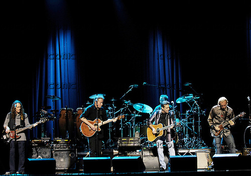 Eagles  - L-R: Timothy B Schmit, Don Henley, Glen Frey, Joe Walsh - performing live at the Indigo O2, London UK - 31 Oct 2007.  Photo credit: George Chin/IconicPix