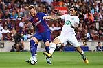 52e Trofeu Joan Gamper.<br /> FC Barcelona vs Chapecoense: 5-0.<br /> Ivan Rakitic vs Victor Ramos.