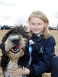 Lorna Weldon and Mossy pictured at the Wee County Fair in Dunleer. Photo: www.pressphotos.ie