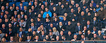 24.11.2018 Rangers v Livingston: Rangers unused players in the stand