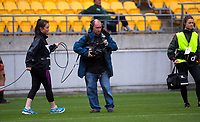 Skysport camera operators during the Heartland Championship rugby match between Horowhenua Kapiti and Wairarapa Bush at Westpac Stadium in Wellington, New Zealand on Sunday, 1 October 2017. Photo: Dave Lintott / lintottphoto.co.nz