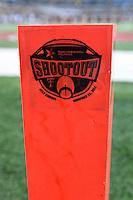 Plan marks the playing field around At&t Stadium during NCAA Football game, Saturday, November 29, 2014 in Arlington, Tex. (Mo Khursheed/TFV Media via AP Images)