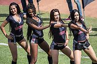 Edecanes o Chicas Tecate.<br /> Partido de beisbol de la Serie del Caribe con el encuentro entre los Alazanes de Gamma de Cuba contra los Criollos de Caguas de Puerto Rico en estadio de los Charros de Jalisco en Guadalajara, M&eacute;xico, Martes 6 feb 2018. <br /> (Foto: AP/Luis Gutierrez)