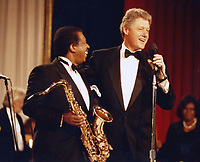Washington, DC<br /> 1997 <br /> Bill Clinton Ben E. King<br /> Photo By John Barrett-PHOTOlink.net/MediaPunch