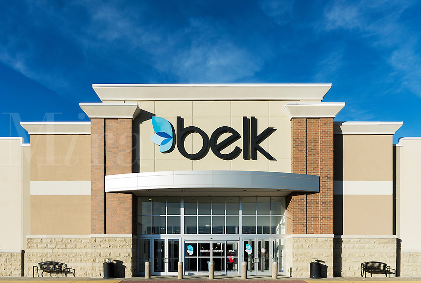Belk department store exterior.
