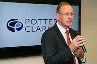 Andrew Argyle Practice Director of Potter Clarkson adresses the crowd