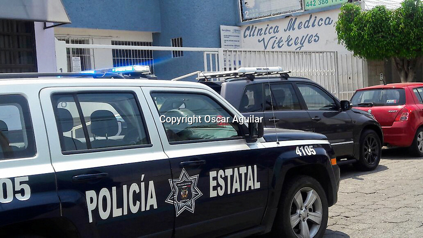 Dos sujetos a mano armada ingresaron a las instalaciones de la clinica Virreyes, ubicado en la calle de Virrey de Revillagigedo. Tuvieron un botín aproximado a los 10 mil pesos y lograron darse a la fuga.