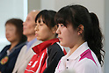 Risa Sugimoto, SEPTEMBER 9, 2013 - Squash : Japanese Squash team attend press conference about squash not being selected from the Olympic summer Games in 2020 <br />  at Kishi Gymnasium, Tokyo, Japan. (Photo by Yusuke Nakanishi/AFLO SPORT)