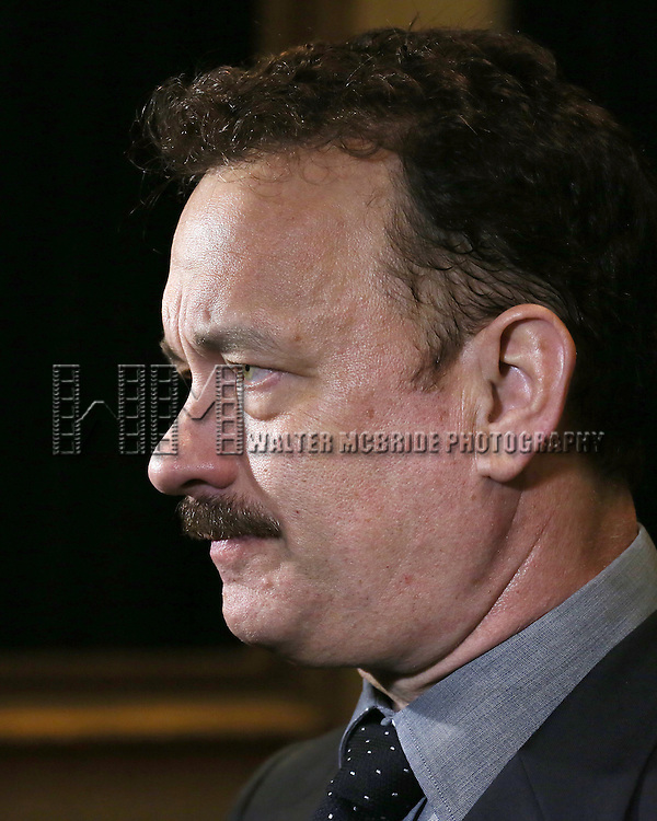 Tom Hanks  'In The Spotlight' attending the Broadway Opening Night Performance After Party for  'Lucky Guy' at the Gotham Hall in New York City on 4/01/2013
