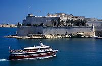 Malta, Valetta: mit dem Ausflugsschiff der Captain Morgan Cruises durch den Grand Harbour | Malta, Valetta: with Captain Morgan Cruises through Grand Harbour
