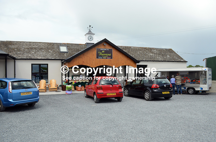 Harrisons Restaurant, Greyabbey, Co Down, 201207280454..Copyright Image from Victor Patterson, 54 Dorchester Park, Belfast, UK, BT9 6RJ..Tel: +44 28 9066 1296.Mob: +44 7802 353836.Voicemail +44 20 8816 7153.Skype: victorpattersonbelfast.Email: victorpatterson@me.com.Email: victorpatterson@ireland.com (back-up)..IMPORTANT: If you wish to use this image or any other of my images please go to www.victorpatterson.com and click on the Terms & Conditions. Then contact me by email or phone with the reference number(s) of the image(s) concerned.