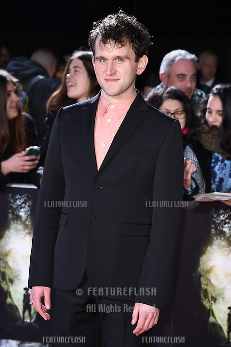 Harry Melling at the UK premiere of &quot;The Lost City of Z&quot; at the British Museum, London, UK. <br /> 16 February  2017<br /> Picture: Steve Vas/Featureflash/SilverHub 0208 004 5359 sales@silverhubmedia.com
