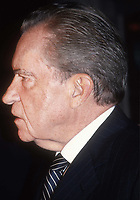 Richard Nixon 1988<br /> Photo By Adam Scull/PHOTOlink.net