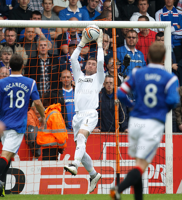 Allan McGregor saves for Rangers
