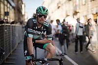 Daniel Oss (ITA/BORA - hansgrohe) post-race<br /> <br /> 110th Milano-Sanremo 2019 (ITA)<br /> One day race from Milano to Sanremo (291km)<br /> <br /> ©kramon