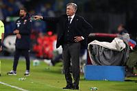 Carlo Ancelotti coach of Napoli gestures<br /> Napoli 09-11-2019 Stadio San Paolo <br /> Football Serie A 2019/2020 <br /> SSC Napoli - Genoa CFC<br /> Photo Cesare Purini / Insidefoto