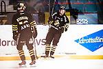 Stockholm 2014-12-01 Ishockey Hockeyallsvenskan AIK - S&ouml;dert&auml;lje SK :  <br /> AIK:s Daniel Olsson Trkulja firar sitt 1-0 m&aring;l under matchen mellan AIK och S&ouml;dert&auml;lje SK <br /> (Foto: Kenta J&ouml;nsson) Nyckelord:  AIK Gnaget Hockeyallsvenskan Allsvenskan Hovet Johanneshov Isstadion S&ouml;dert&auml;lje SSK jubel gl&auml;dje lycka glad happy