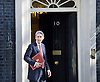 Cabinet meeting arrivals <br /> Downing Street, London, Great Britain <br /> 19th July 2016 <br /> <br /> New members of the Cabinet <br /> arriving ahead of the first cabinet meeting chaired by Theresa May <br /> <br /> <br /> Philip Hammond<br /> Chancellor<br /> <br /> Photograph by Elliott Franks <br /> Image licensed to Elliott Franks Photography Services