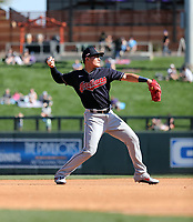 Yu Chang - Cleveland Indians 2020 spring training (Bill Mitchell)