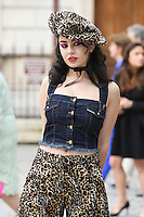 Charli XCX arrives for the VIP preview of the Royal Academy of Arts Summer Exhibition 2016