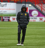 2nd February 2020; New Douglas Park, Hamilton, South Lanarkshire, Scotland; Scottish Premiership, Hamilton Academical versus Celtic; New signing Ismaila Soro of Celtic is included in the squad for the match