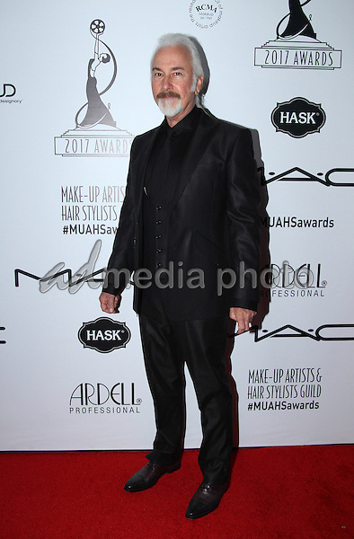 19 February 2017 - Los Angeles, California - Rick Baker<br /> <br /> .2017 Make-Up Artist &amp; Hair Stylists Guild (MUAHS) Awards held at The Novo. Photo Credit: AdMedia