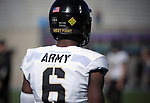 November 4, 2017:  Army West Point defensive back, Glen Coates #6, prior to the NCAA Football game between the Army West Point Black Knights and the Air Force Academy Falcons at Falcon Stadium, United States Air Force Academy, Colorado Springs, Colorado.  Army West Point defeats Air Force 21-0.