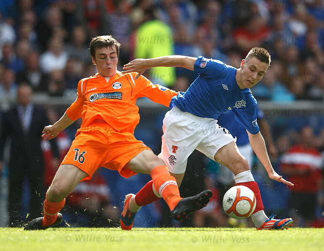 Barrie McKay and Sean Kelly