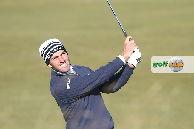 Edoardo Molinari (ITA) in St Andrews on the 2nd Day at the Alfred Dunhill Links Championship, Old Course St. Andrews, Carnoustie and Kingsbarns, Scotland...(Photo Jenny Matthews/www.golffile.ie)