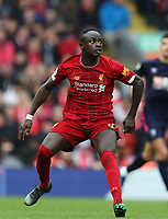 7th March 2020; Anfield, Liverpool, Merseyside, England; English Premier League Football, Liverpool versus AFC Bournemouth; Sadio Mane of Liverpool