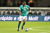 27th March 2018, Olympiastadion, Berlin, Germany; International Football Friendly, Germany versus Brazil; Antonio Rudiger (Germany) in action