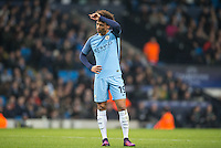 Leroy Sane of Manchester City during the UEFA Champions League GROUP match between Manchester City and Celtic at the Etihad Stadium, Manchester, England on 6 December 2016. Photo by Andy Rowland.
