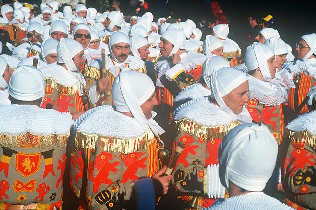 Gilles, Mardi Gras, Binche, Belgium