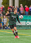 15 November 2015: Binghamton University Bearcat Forward Ben Ovetsky, a Sophomore from Irvington, NY, in action against the University of Vermont Catamounts at Virtue Field in Burlington, Vermont. The Bearcats fell to the Catamounts 1-0 in the America East Championship Game. Mandatory Credit: Ed Wolfstein Photo *** RAW (NEF) Image File Available ***