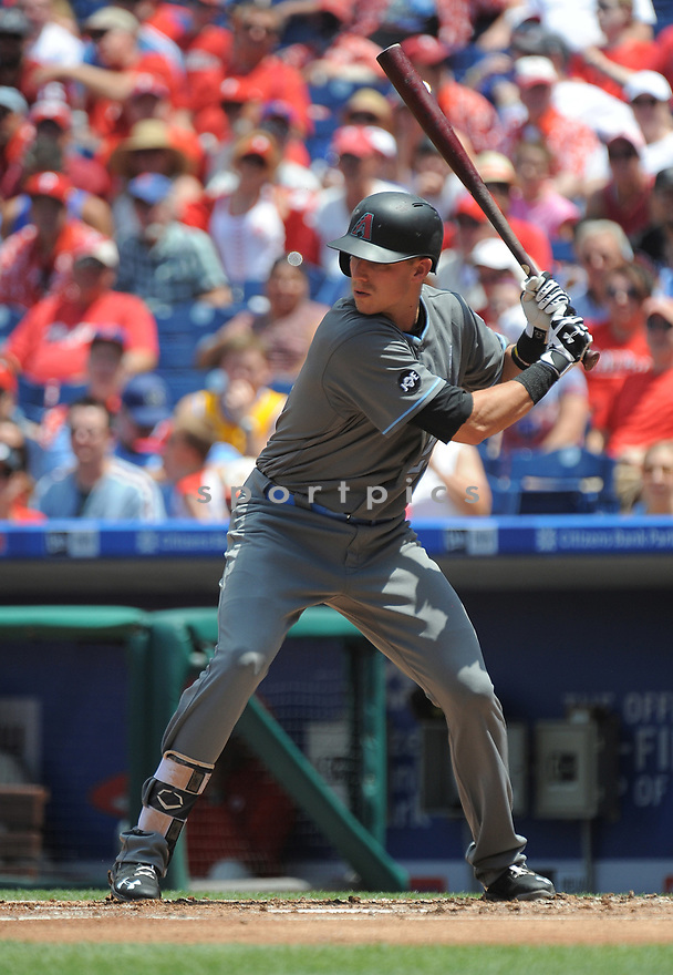 Arizona Diamondbacks Jake Lamb (22) during a game against the Philadelphia Phillies on June 19, 2016 at Citizens Bank Park in Philadelphia, PA. The Diamondbacks beat the Phillies 3-1.