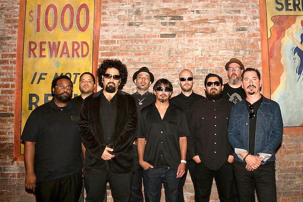 The funk band Brownout at Brooklyn Bowl in Williamsburg, Brooklyn, New York on September 5th, 2014.