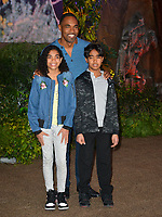 Jason George &amp; Children at the Los Angeles premiere of &quot;Jumanji: Welcome To the Jungle&quot; at the TCL Chinese Theatre, Hollywood, USA 11 Dec. 2017<br /> Picture: Paul Smith/Featureflash/SilverHub 0208 004 5359 sales@silverhubmedia.com