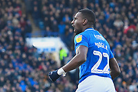 Omar Bogle of Portsmouth celebrates his goal during Portsmouth vs Doncaster Rovers, Sky Bet EFL League 1 Football at Fratton Park on 2nd February 2019
