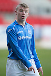 St Johnstone Academy v Manchester United Academy....17.04.15   <br /> Marc Gow<br /> Picture by Graeme Hart.<br /> Copyright Perthshire Picture Agency<br /> Tel: 01738 623350  Mobile: 07990 594431