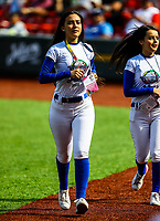 Eden , Edecanes.<br /> the baseball game of the Caribbean Series against the Alazanes of Granma Cuba in Guadalajara, Mexico, on Friday, February 2, 2018.<br /> (Photo: Luis Gutierrez)