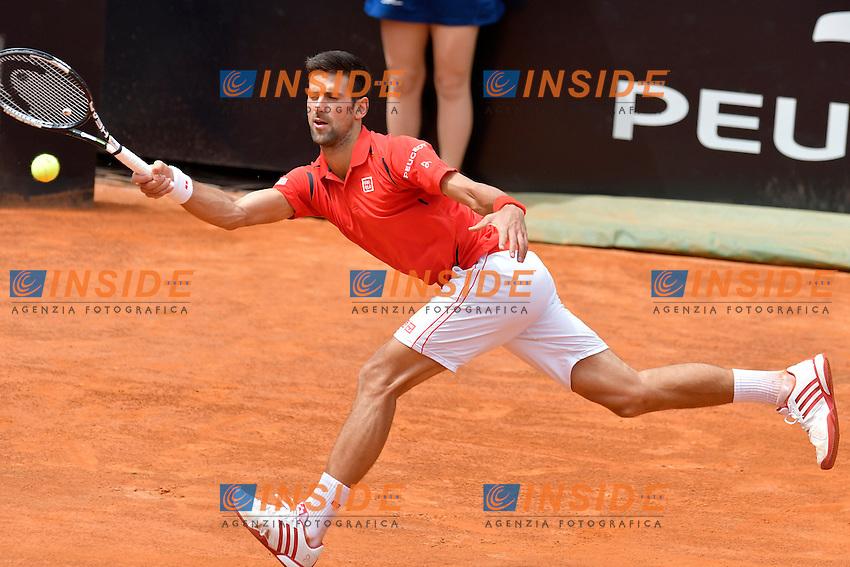 Novak Djokovic (SRB)<br /> Roma 11-05-2016  Foro Italico<br /> Internazionali BNL d'Italia, <br /> Tennis ATP<br /> Foto Antonietta Baldassarre / Insidefoto