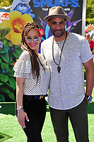 Boris Kodjoe &amp; Nicole Ari Parker at the world premiere for &quot;Smurfs: The Lost Village&quot; at the Arclight Theatre, Culver City, USA 01 April  2017<br /> Picture: Paul Smith/Featureflash/SilverHub 0208 004 5359 sales@silverhubmedia.com