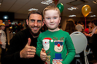 Tuesday  15 December 2015<br /> Pictured: Angel Rangel<br /> Re: Kids SCFC Christmas Party at the Liberty Stadium, Swansea