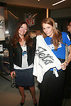 EVA SCRIVO AND VOGUE'S ANNE VINCENT ATTEND NFL & VOGUE CELEBRATE NFL WOMEN'S APPAREL & UNVEIL MARCHESA DESIGN AT THE NATIONAL FOOTBALL LEAGUE, NY D. SALTERS/WENN 10/2/12
