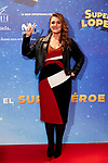 Carlota Corredera attends to Super Lopez premiere at Capitol cinema in Madrid, Spain. November 21, 2018. (ALTERPHOTOS/A. Perez Meca)