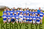 The St Brendan's U14 Feile hurling team that played Ballyduff in the U14 Feile A Hurling Final in Abbeydorney on Monday.
