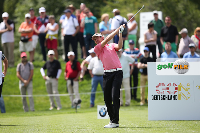 Jason Palmer (ENG) on the 8th tee during Round One of the 2015 BMW International Open at Golfclub Munchen Eichenried, Eichenried, Munich, Germany. 25/06/2015. Picture David Lloyd | www.golffile.ie