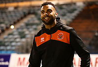 Blackpool's Curtis Tilt arrives at todays match<br /> <br /> Photographer Rachel Holborn/CameraSport<br /> <br /> The EFL Sky Bet League One - Gillingham v Blackpool - Tuesday 6th November 2018 - Priestfield Stadium - Gillingham<br /> <br /> World Copyright &copy; 2018 CameraSport. All rights reserved. 43 Linden Ave. Countesthorpe. Leicester. England. LE8 5PG - Tel: +44 (0) 116 277 4147 - admin@camerasport.com - www.camerasport.com