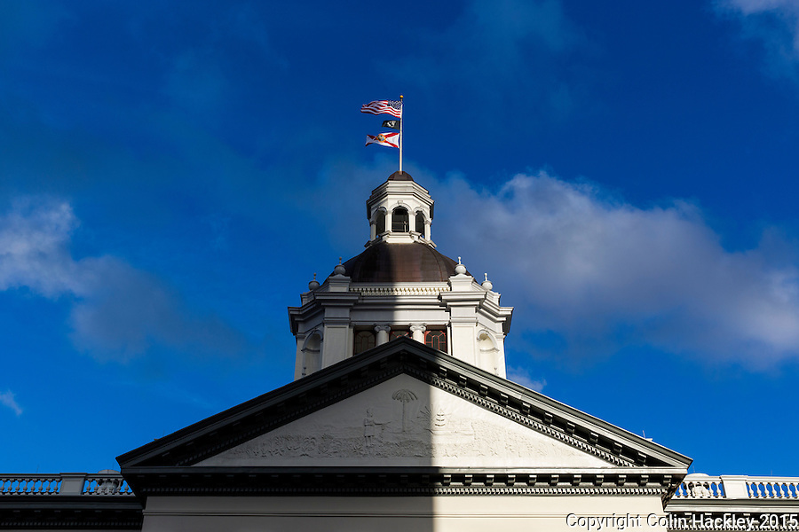 TALLAHASSEE, FLA. 3/10/15-The Historic Capitol building in Tallahassee.<br />